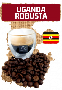 60 capsule cialde compatibili nespresso monorigine Uganda robusta naturale