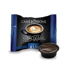 Box 50 capsule Borbone Don Carlo - Miscela Blu compatibili A Modo Mio