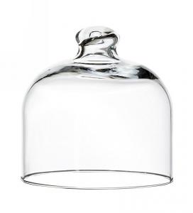 Campana Cloche in vetro per dolci cm.11h diam.11