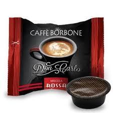 Box 50 capsule Borbone Don Carlo - Miscela Rossa compatibili A Modo Mio