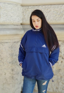 VINTAGE K-WAY ADIDAS WINDBREAKER ANNI 90