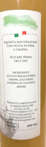 Grappa alla Pera 50cl