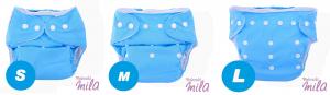 LUNAPARK - Pannolino lavabile (POCKET) con tasca + inserto di microfibra (GRATIS)