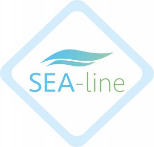 SEA-line - Telo multiuso in mussola di bamboo e alghe marine tinta unita - HIT!