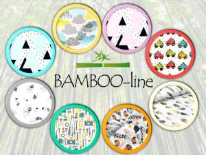 Favi -  Bamboo-line - swaddle/mussola di bamboo 100 % - telo multiuso - giallo