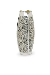 Vaso Fiori in Sheffield stile Cesellato Argentato Argento cm.10,5x31,5h