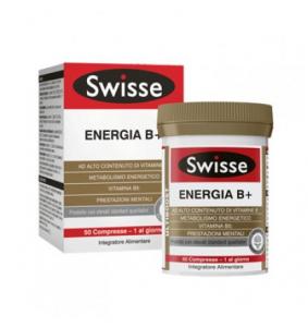 Swisse Energia B+ ad alto contenuto di vitamine B metabolismo energetico prestazioni mentali