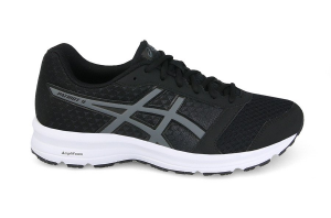 SCARPE ASICS PATRIOT 9 RUNNING T823N-9097 BLACK/CARBON/WHITE