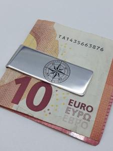 Fermasoldi in argento 925 con rosa dei venti, vendita on line | GIOIELLERIA BRUNI Imperia