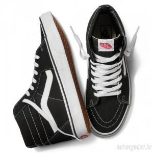 SNEAKERS VANS SK8-HI VN000D5IB8C BLACK/BLACK/WHITE