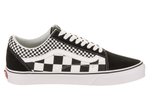 SNEAKERS VANS OLD SKOOL (MIX CHECKER) BLACK/TRUE VN0A38G1Q9B