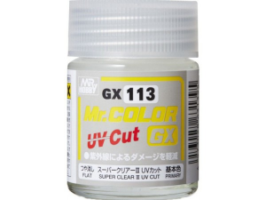 Trasparente  opaco  GX Super Flat UV CUT 18m Ultra resistenteai reggi ultravioletti e  all'usura del tempo