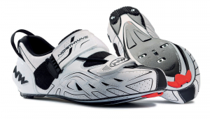 NORTHWAVE Man triathlon shoes TRIBUTE white/black