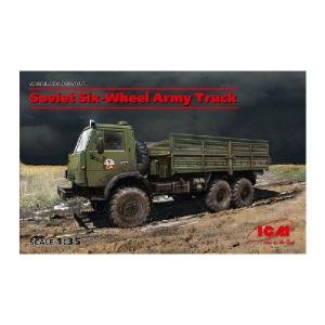 SOVIET SIX-WHEEL ARMY TRUCK