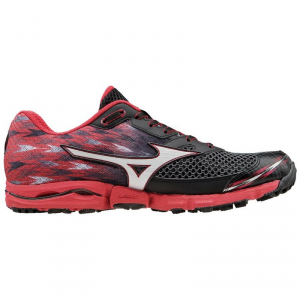 SCARPE MIZUNO WAVE HAYATE 2 RUNNING BLACK/RED/WHITE J1GJ154210