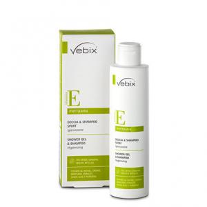 Vebix Doccia & Shampoo Sport 200ml