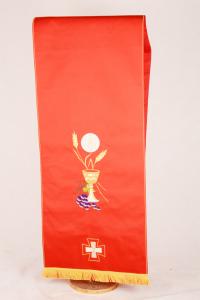 Copri Ambone 1 MA Eucarestia - Rosso - 50 x 260 cm
