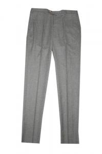 Pantalone Slim fit realizzato in morbido tessuto 100% lana. Antichi Telai 1894