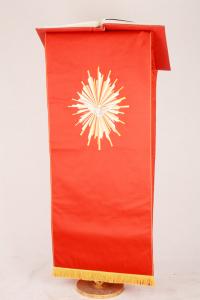 Copri Ambone 14 MA Colomba - Rosso - 50 x 260 cm