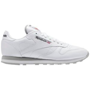 SNEAKERS REEBOK CL LTHR MEN WHITE/LT  2214