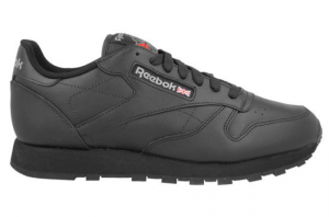 SNEAKERS REEBOK CL LTHR MEN BLACK 2267 668bfb153b5