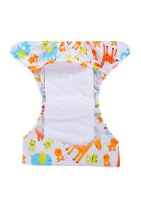 Inserto per pannolini lavabili - BAMBOO - 1 pz - (34 x 14 cm)