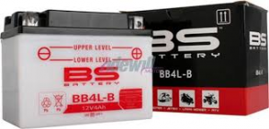 BATTERIA BS BB4L-B CON ACIDO PER MOTO SCOOTER  246600065