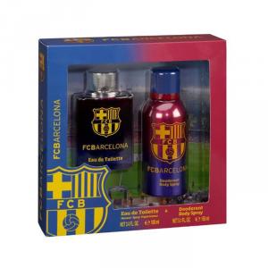 FC Barcelona Eau De Toilette Spray 100ml Set 2 Parti 2017