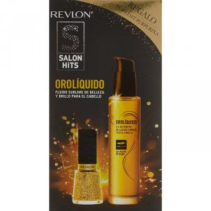 Salon Hits Oro Líquido Olio Nutriente 50ml Set 2 Parti 2017