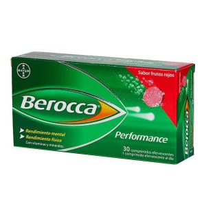 Berocca Performance 30 Compresse Effervescenti Frutti Rossi