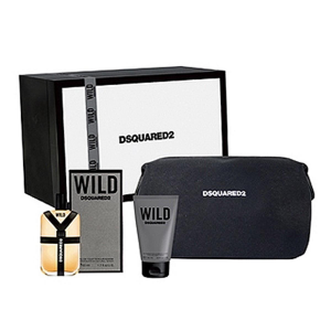 Dsquared2 He Wild Eau De Toilette Spray 50ml Set 3 Parti 2017