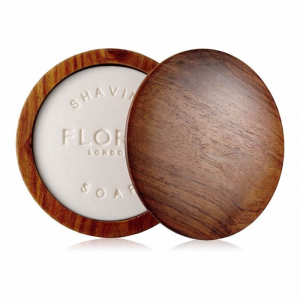 Floris Elite Shaving Soap In A Wooden Bowl 100g