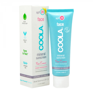 Coola Mineral Face Spf 20 Lotion Tinted Rose 50ml