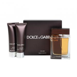 Dolce And Gabbana The One For Men Eau De Toilette Spray 100ml Set 3 Parti 2018