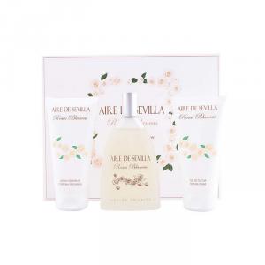 Aire De Sevilla Rosas Blancas Eau De Toilette Spray 150ml Set 3 Parti 2018