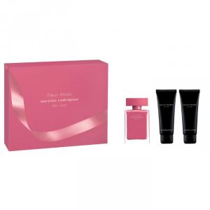Narciso Rodriguez Fleur Musc For Her Eau De Parfum Spray 50ml Set 3 Parti 2018
