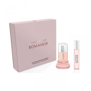 Laura Biagiotti Romamor Eau De Toilette Spray 25ml Set 2 Parti 2018