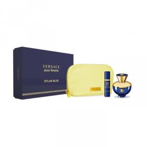 Versace Dylan Blue Femme Eau De Parfum Spray 100ml Set 3 Parti 2018