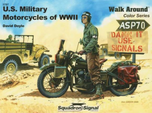 WWII MOTORCYCLES COLOR WALK AROUND