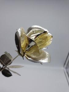 Rosa in argento, vendita on line | GIOIELLERIA BRUNI Imperia