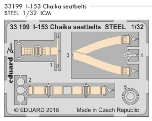 I-153 Chaika seatbelts STEEL ICM