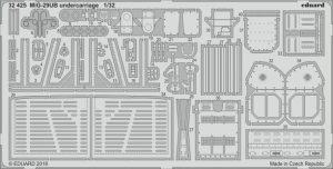 MiG-29UB undercarriage (TRUMPETER)