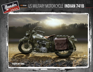 US Military Motorcycle Indian 741B
