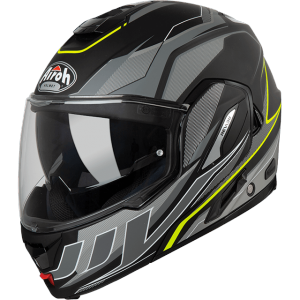 CASCO MOTO MODULARE AIROH REV19 2019 REVOLUTION ANTHRACITE MATT REV19R2