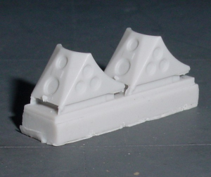1/48 Wheel chocks set (contains 4 wheel chocks)