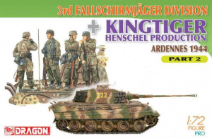 3rd Fallschirmjager Division + Kingtiger Henschel Production (Ardennes 1944) Part 2
