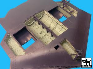 B-2 Spirit bomb bays + wheel bays - Modelcollect