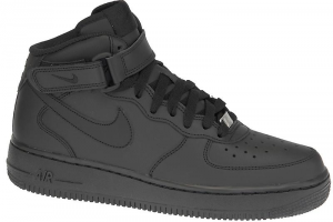 SNEAKERS NIKE AIR FORCE 1MID (GS) BLACK/BLACK 314195-004