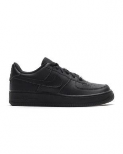 SNEAKERS NIKE AIR FORCE 1 (GS) BLACK/BLACK 314192-009