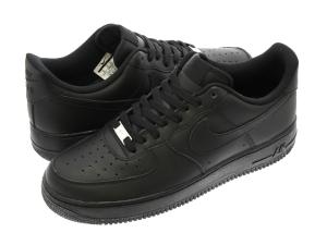 SNEAKERS NIKE AIR FORCE 1 (GS) BLACK/BLACK 314192-009